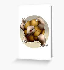 076 - Shiny Megaton Monster Greeting Card