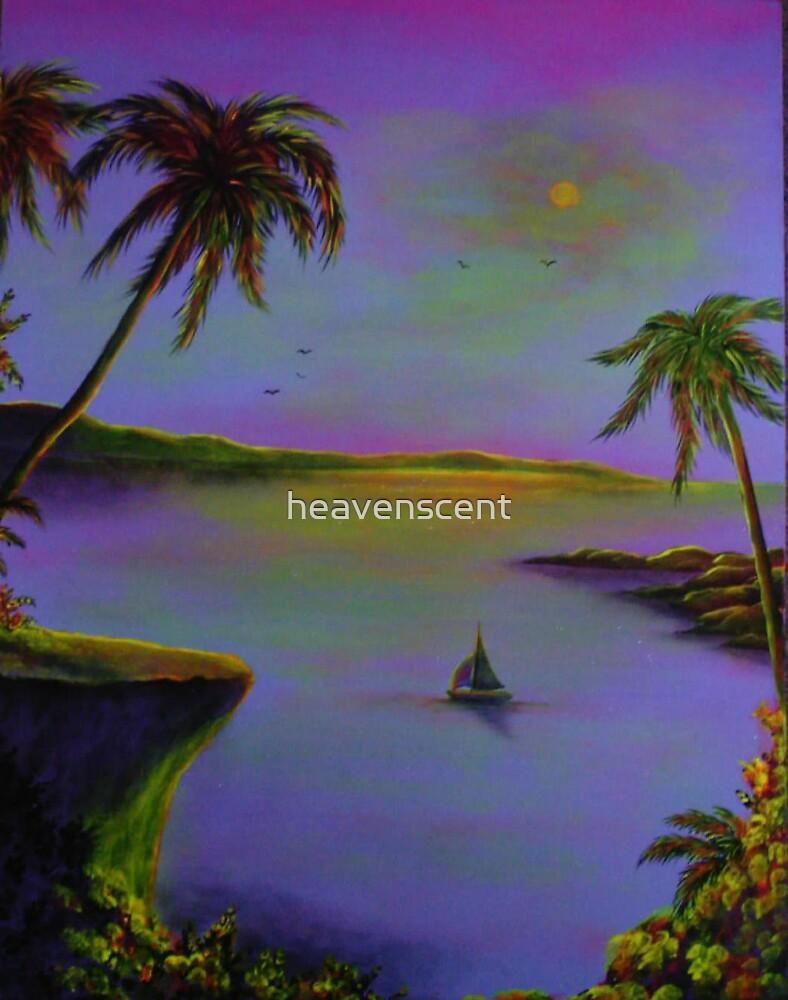 mauve cliffs by heavenscent