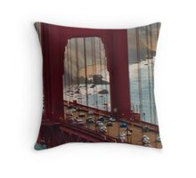 Quot Aerial Golden Gate Bridge Quot Throw Pillows By David Perea