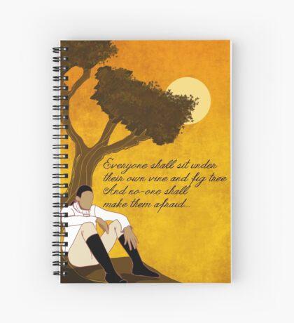 Vine and Fig Tree Artwork Spiral Notebook