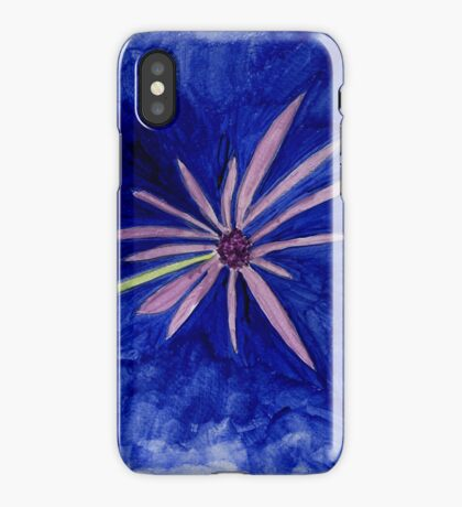 Wildflower Out of the Blue iPhone Case