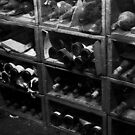 0147 Dusty Old Bottles by DavidsArt