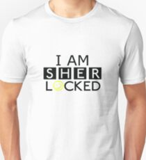 Hyjacked 'I AM SHERLOCKED' Unisex T-Shirt