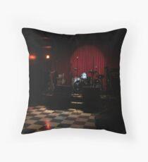 Funky-Jazz bar Throw Pillow