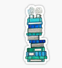 Books and Tea for Two Sticker