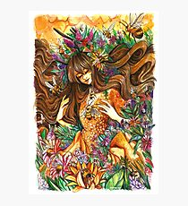 Youtube Artist Collective- Bee goddess Photographic Print