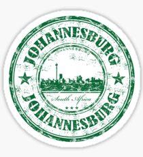 Johannesburg South Africa Sticker