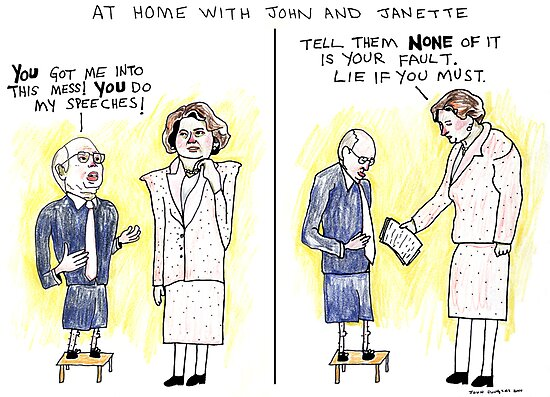 At Home With John and Janette by John Douglas