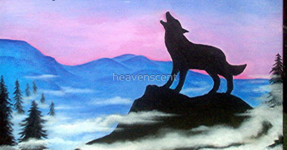 Wolf by heavenscent
