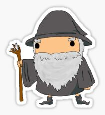 Baby Wizard Sticker