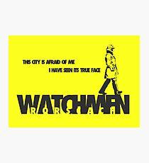 Watchmen - Rorscach Photographic Print