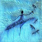 DANCER AND DRAGONFLIES 24 by Tammera