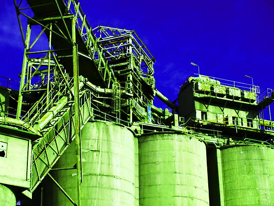 cement works # 3 by mick8585