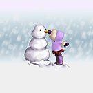 Snow Friend by thedustyphoenix