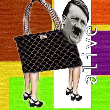 Hitler Handbag by lambfur64