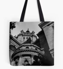 """""""cathedral 0.1"""" Tote Bag"""