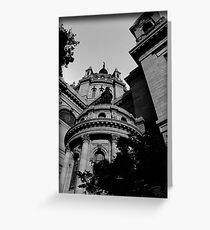 """""""cathedral 0.1"""" Greeting Card"""