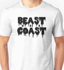 Beast Coast - Black Unisex T-Shirt