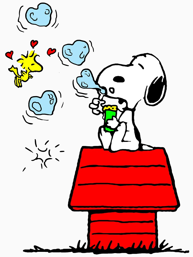 Snoopy and Woodstock by UnionTee