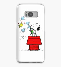 Snoopy and Woodstock Samsung Galaxy Case/Skin