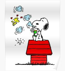 Snoopy and Woodstock Poster