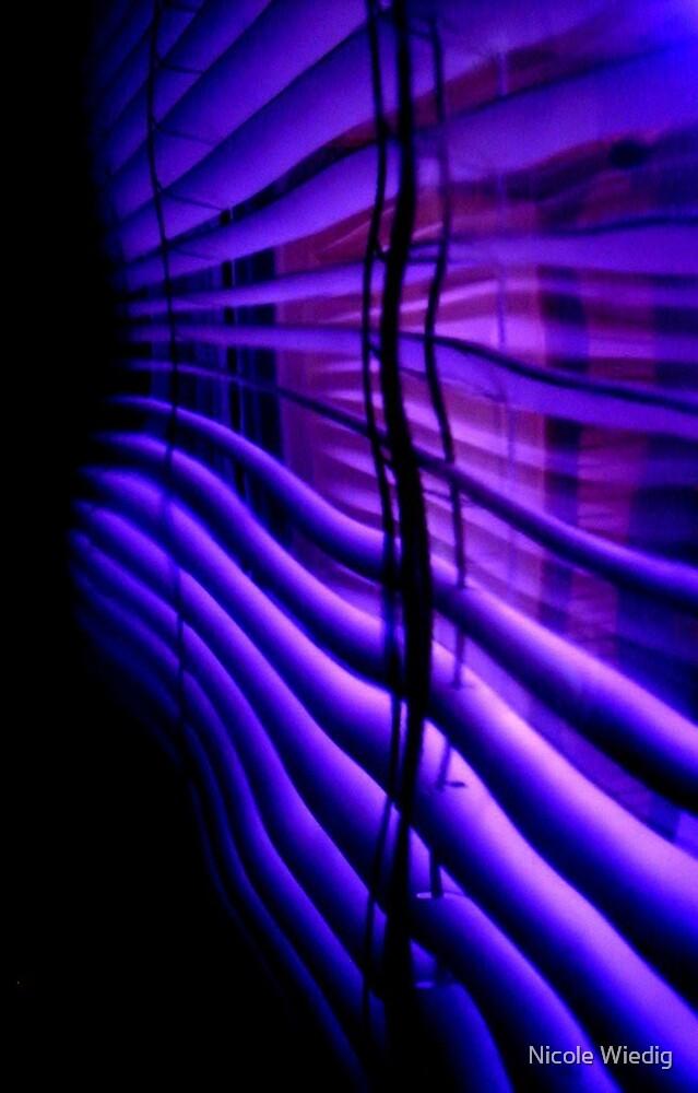 Purple Blinds by Nicole Wiedig