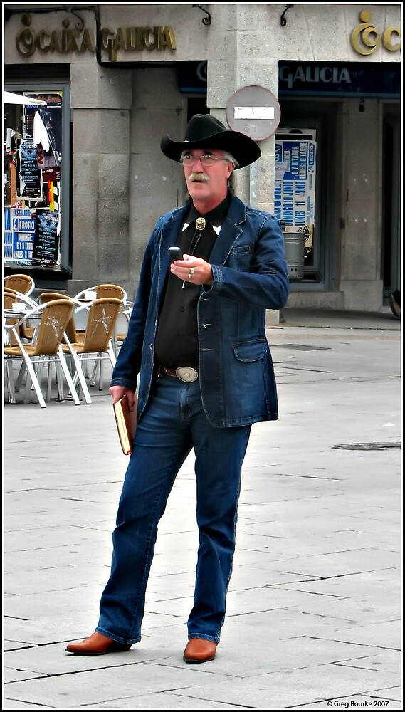 Tourist in Segovia by GregB