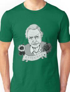 David Attenborough - AttenBae in Grey Unisex T-Shirt