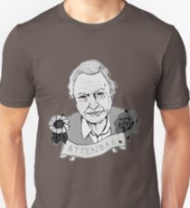 David Attenborough - AttenBae in Grey T-Shirt