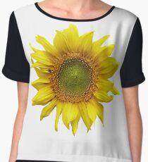 Sunny Sunflower Women's Chiffon Top
