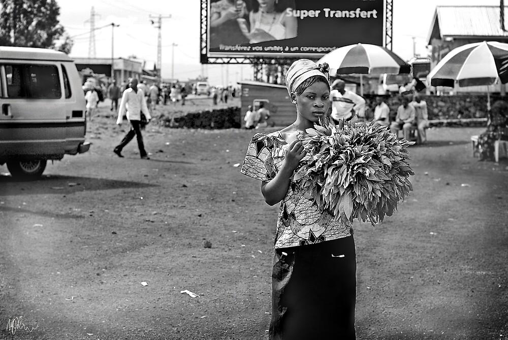 """Roadside Beauty"" Goma, Democratic Republic of Congo by Melinda Kerr"