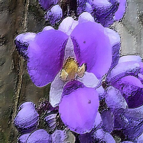 blueflowervelvet by YOSEF
