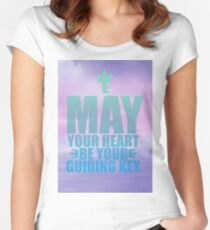 May Your Heart Be Your Guiding Key Women's Fitted Scoop T-Shirt