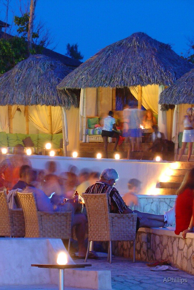 Night at Rick's, Jamaica by APhillips