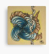 Spins and Spirals Canvas Print