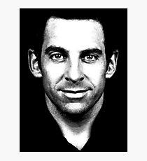 Sam Harris (Black & White) Photographic Print