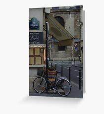 Paris Still Life Greeting Card