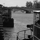Under the Pont des Arts by APhillips