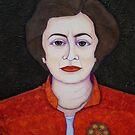 M de Lourdes Pintasilgo by Madalena Lobao-Tello