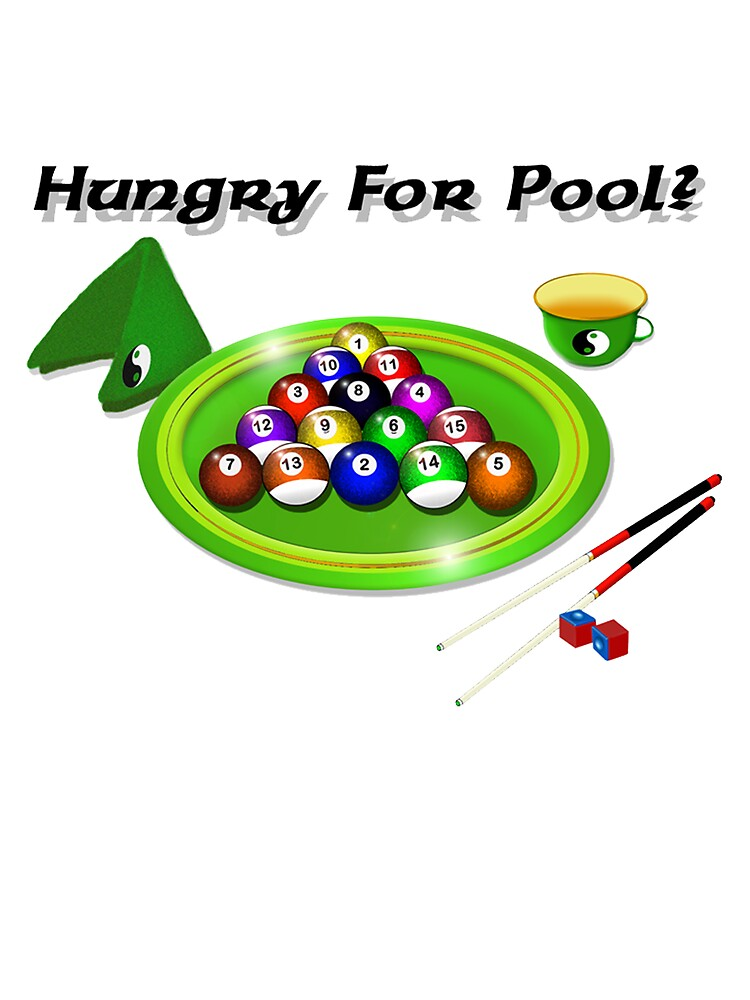 Hungry For Pool by kurtmarcelle