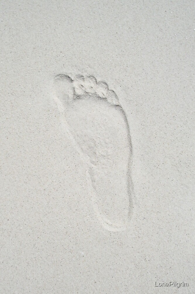 Footprint by LonePilgrim