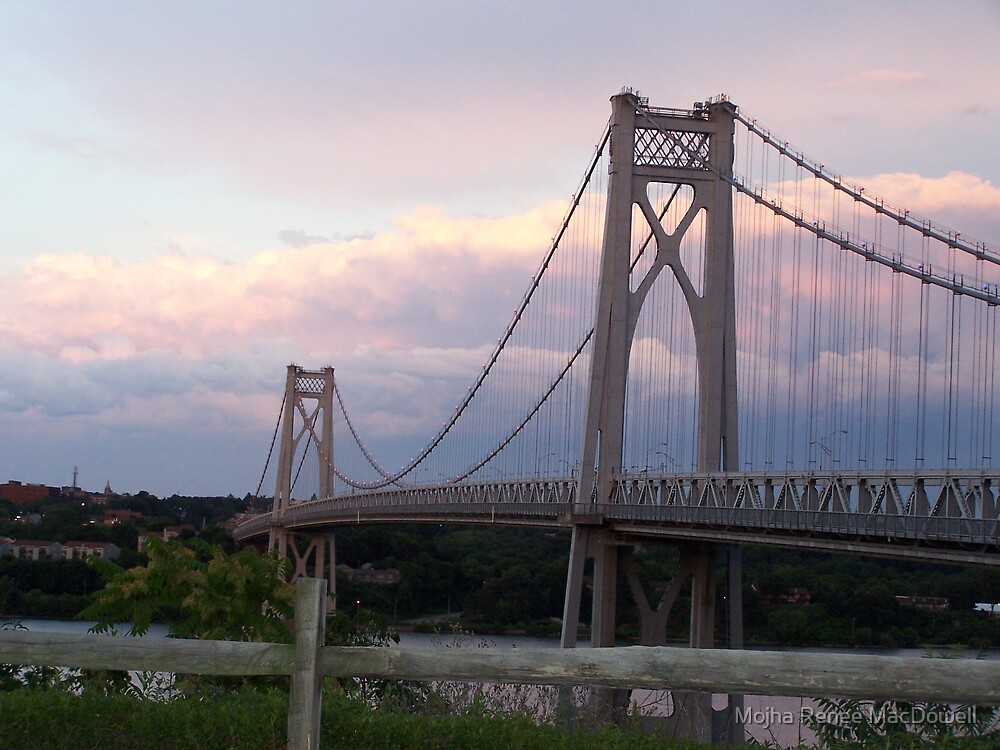 Mid-Hudson Bridge I by Mojha Renee MacDowell