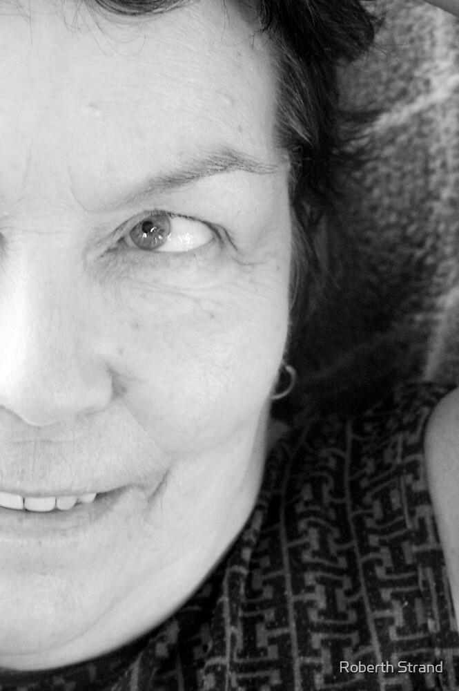 My mom, age 63 by Roberth Strand