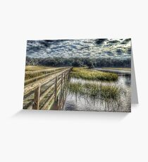 Old House Creek Greeting Card