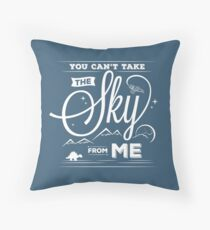 Flying Under the Stars Throw Pillow