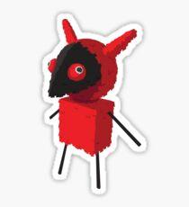 Devilish Piñatamon Sticker