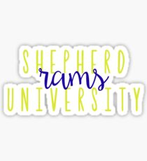 Shepherd University Rams Sticker