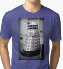 Old Fashioned Dalek Tri-blend T-Shirt