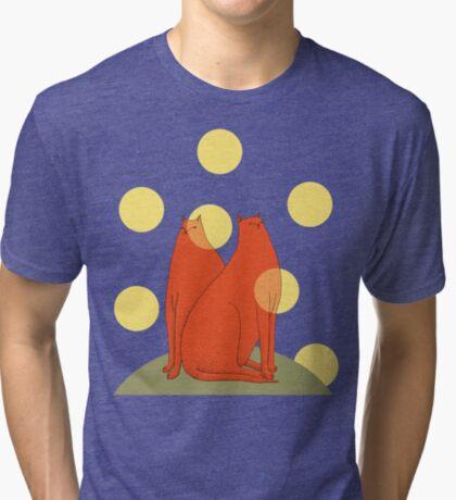 Wonder Cats Tri-blend T-Shirt