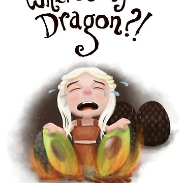 Where is my dragon? by afzainizam